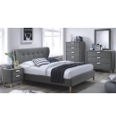 Sheraton Fabric Luxury Queen Bed Frame
