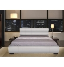 Cool Italian Design PU Leather Queen Bed Frame White