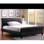 Zetland Leather Bed King