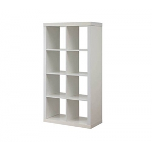 8 Cube Bookcase (Brown or White)