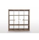 16 Cube Bookcase (Brown or Oak)
